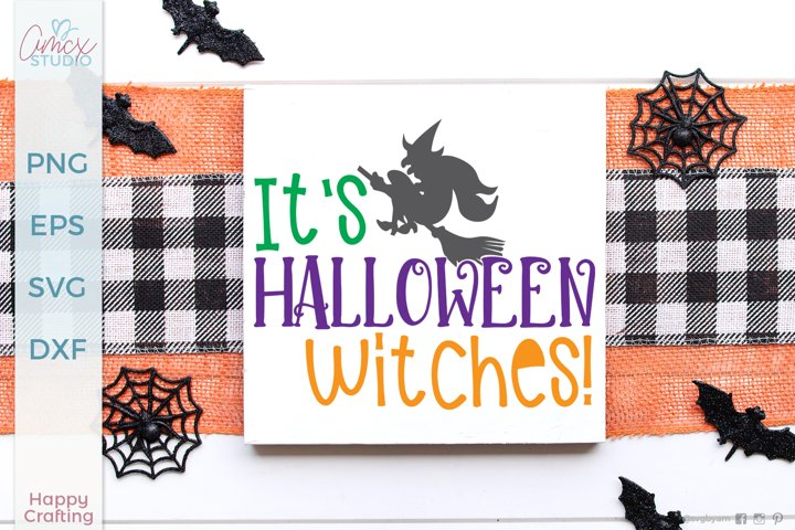 Wicked Witch - Halloween SVG