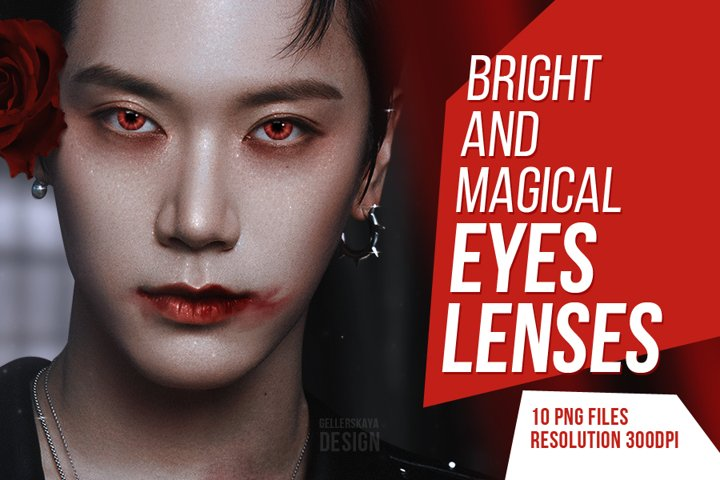 Bright and magical eyes lenses