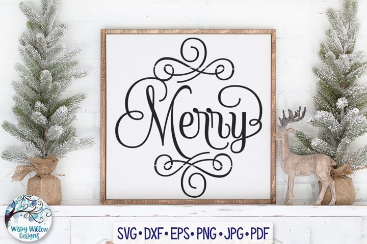 Merry SVG | Christmas SVG