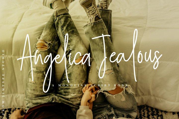 Angelica Jealous | Monoline Style
