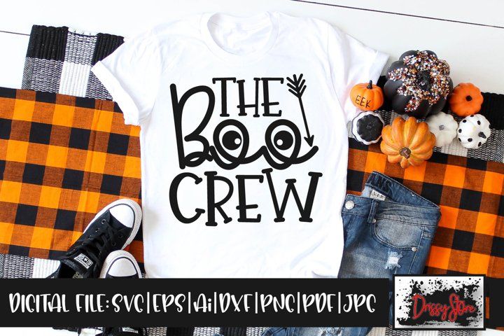 The Boo Crew SVG DXF Ai EPS PDF PNG JPG