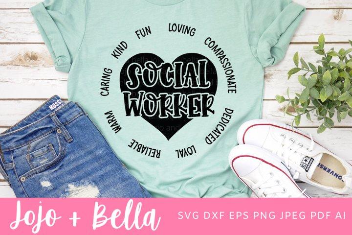 Social Worker Svg | Social Work Svg
