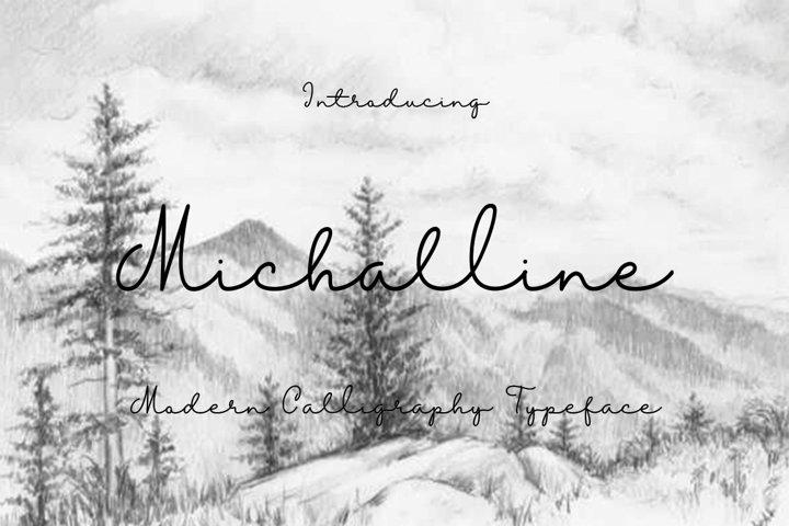 Michalline (line Script)