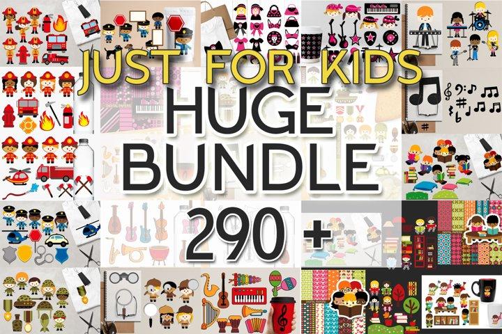 Kids clip art - Graphics and Illustrations Huge Bundle