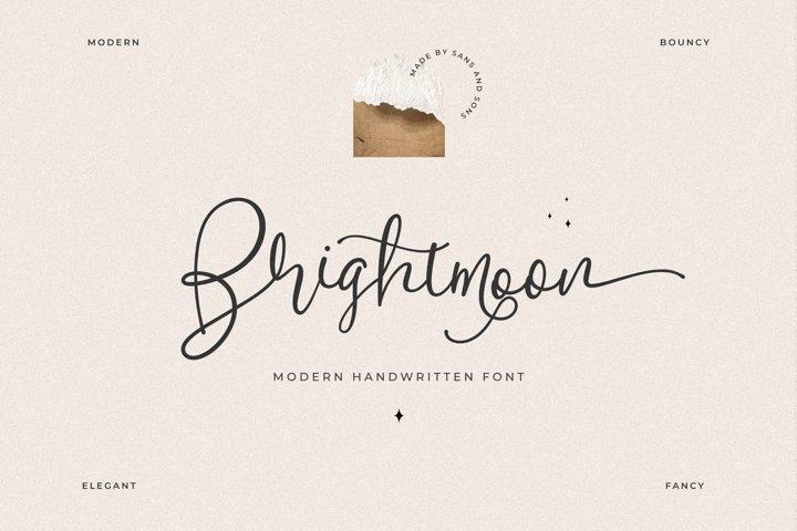 Brightmoon - Modern Calligraphy