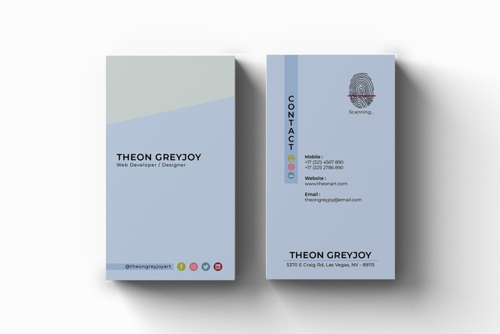Minimal Business Card - Vol.12