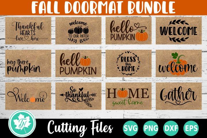Fall SVG Bundle| Pumpkin SVG | Doormat SVG