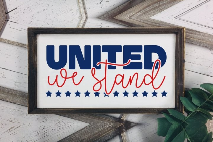 United We Stand DXF SVG PNG