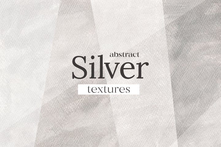 Abstract silver textures