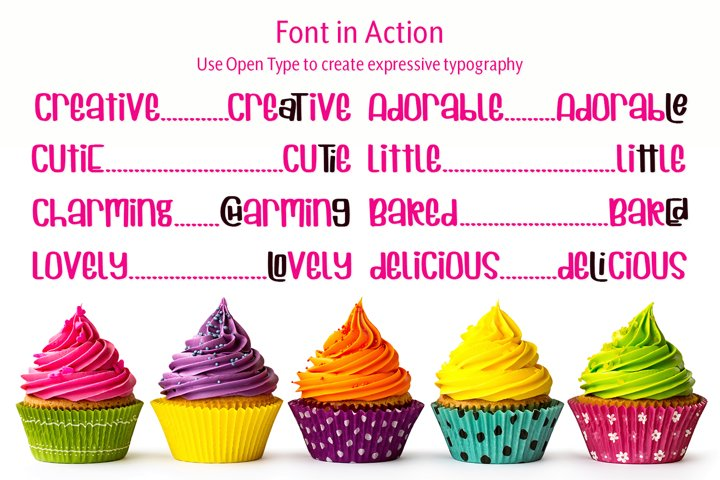 Cuppycake - an impossibly cute font - Free Font of The Week Design8