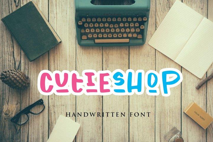 cutie shop