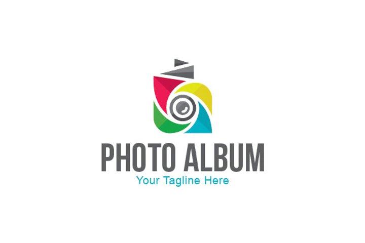 Photo Album Stock Logo Template