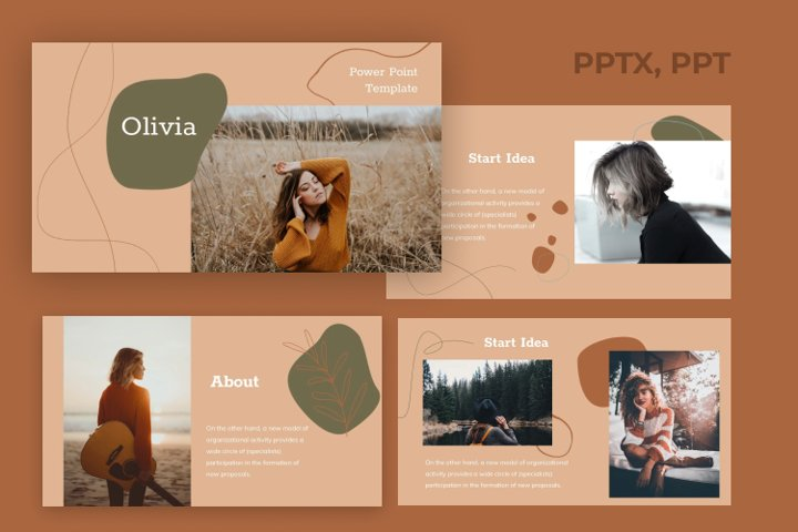 Olivia - Powerpoint template