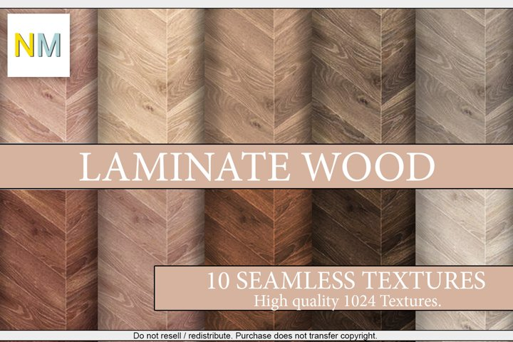 Laminate Wood 10 Seamless Textures Harmonia NM
