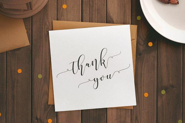Shania Sweet Calligraphy Modern - Free Font of The Week Design7