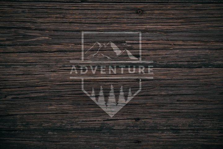 vintage logo design adventure