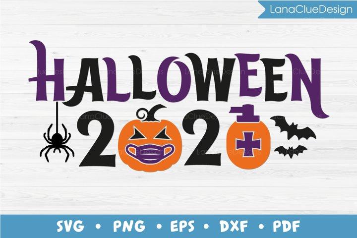 Quarantine Halloween 2020 SVG