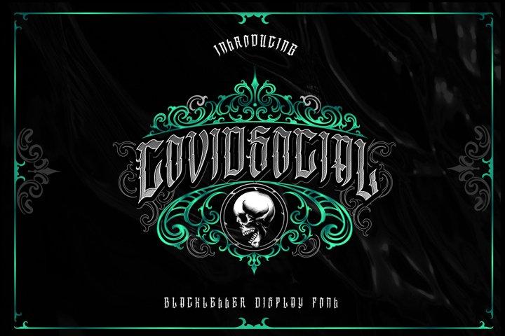 Covidsocial Blackletter