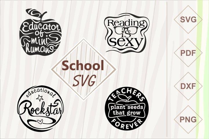 School SVG bundle