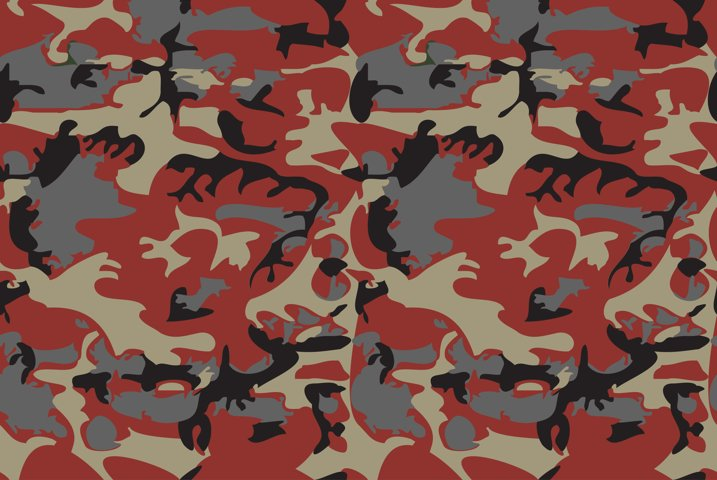 Camouflage pattern background virtual background for Zoom