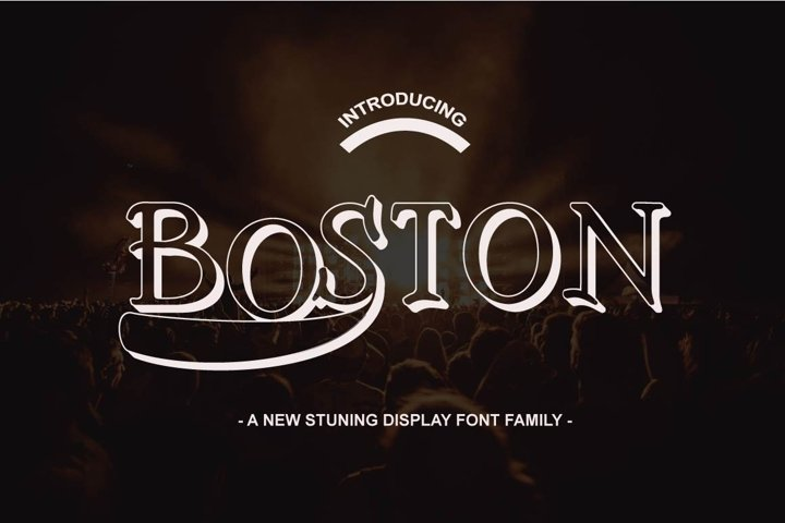Boston Font Family