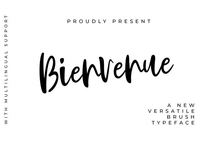 Bienvenue Handwritten Font