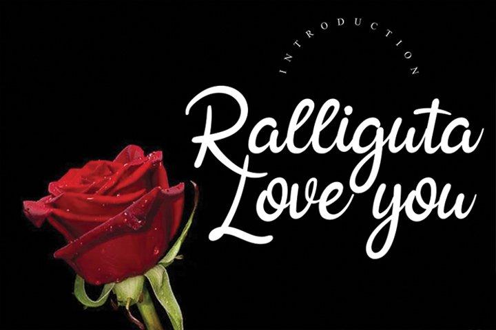 Ralliguta love you