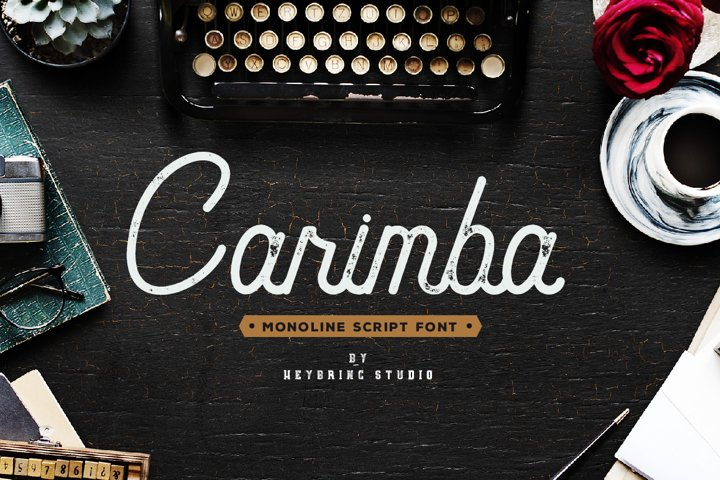 Carimba - Monoline Script