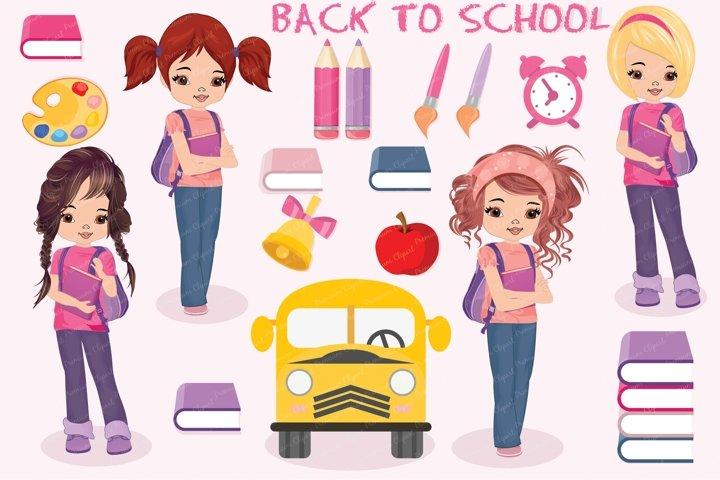 Alice back to school illustrations, Alice back to school graphics