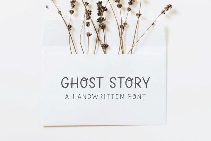Ghost Story   Handwritten Font