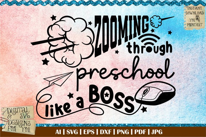 Zooming through preschool like a boss | Masked and ready