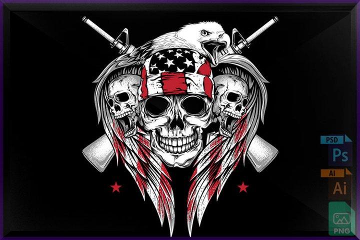 American skulls