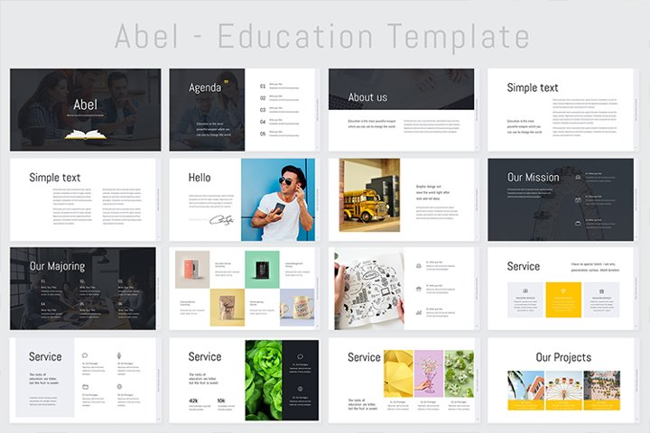 Abel-Education Template Keynote