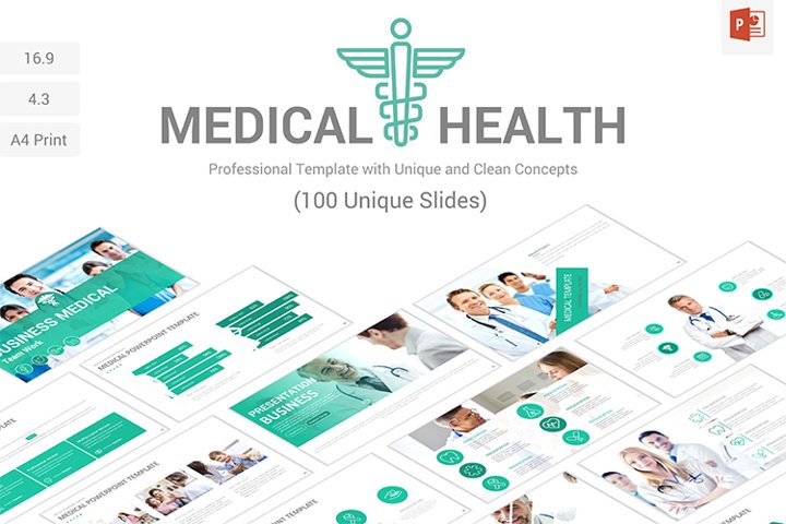 Medical and Health PowerPoint Presentation Template