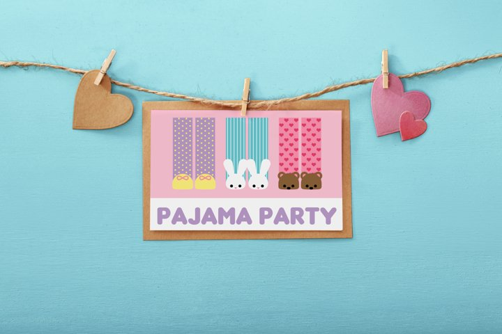 Pajama Party SVG Design