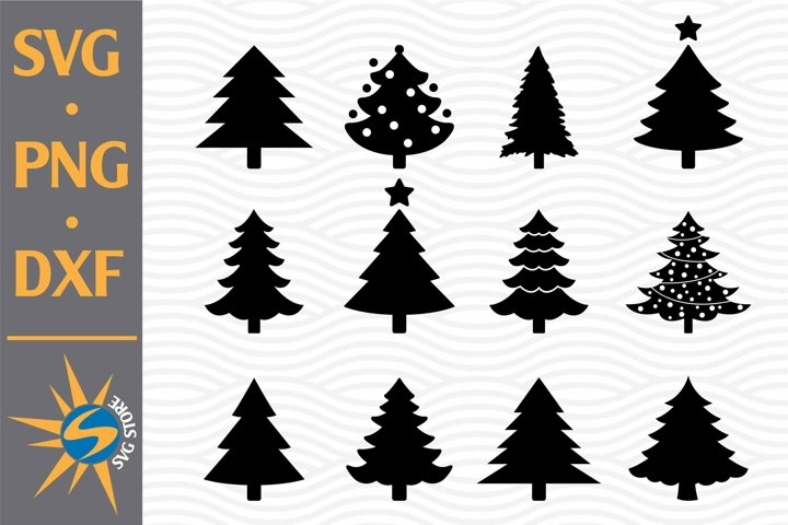 Christmas Tree SVG, PNG, DXF Digital Files Include