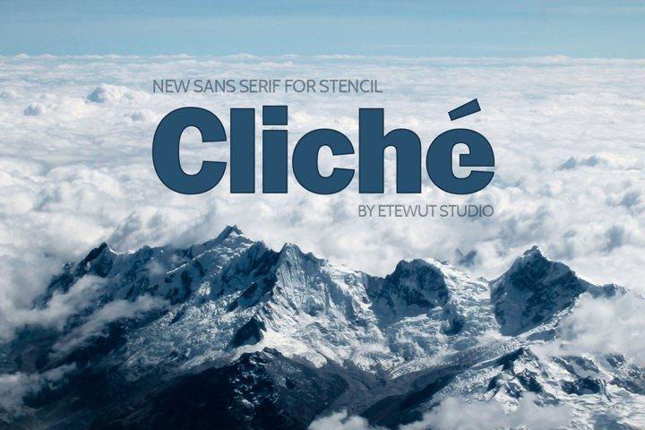 Cliche example