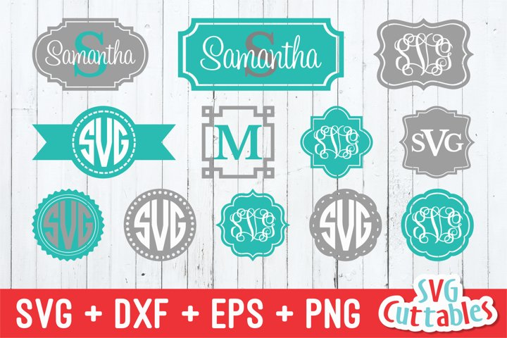 Monogram Frames Set of 12