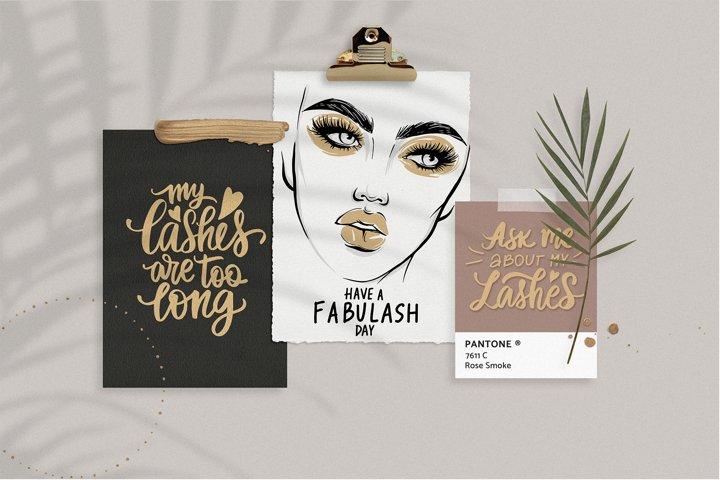Fashion, makeup, lashes, girls!