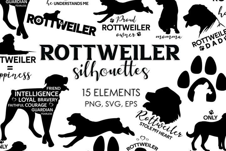Dog Silhouettes, Dog Svg, Dog Clipart, Svg Bundle, Svg Files