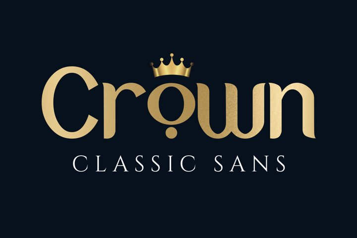 Crown - Free Font of The Week Font