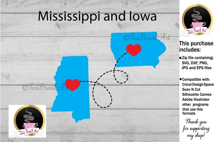 Mississippi and Iowa Long distance Cutting File 1199