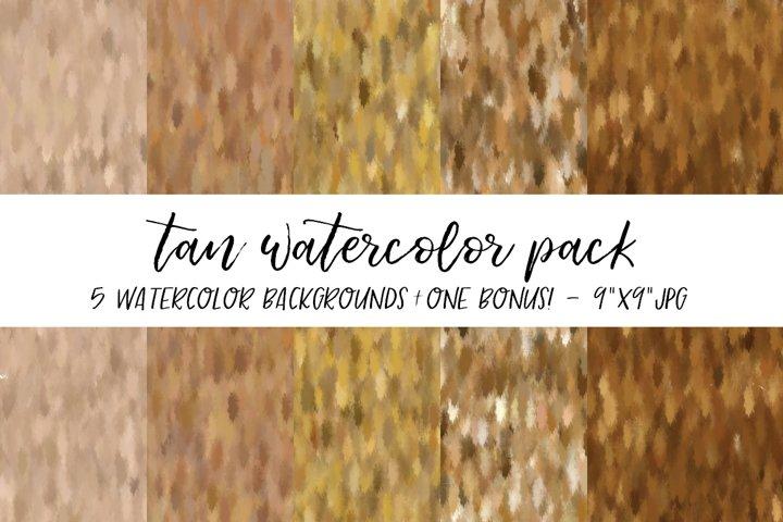 Tan Watercolor Backgrounds