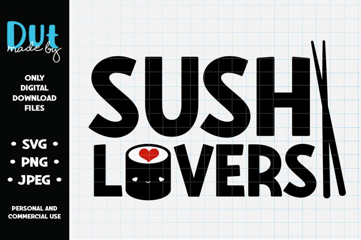 Sushi Lovers SVG