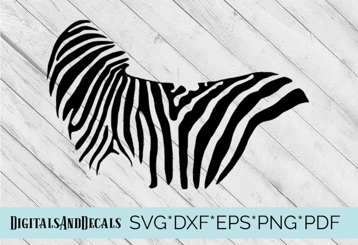 Zebra SVG  Cutting File