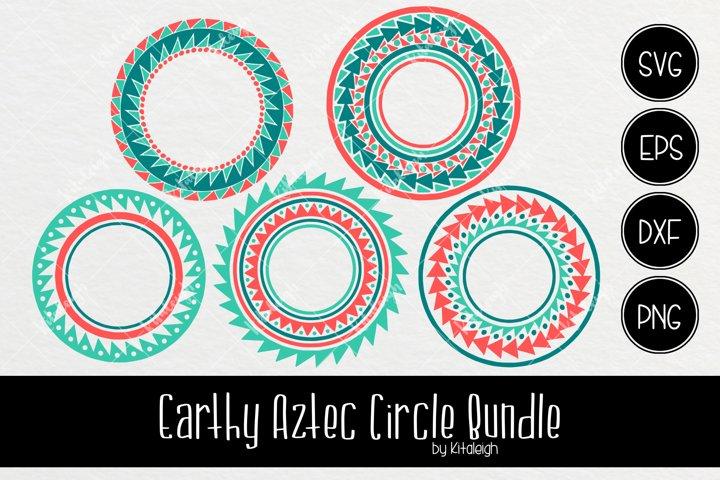 Earthy Aztec Circle Bundle (Valued at $20)