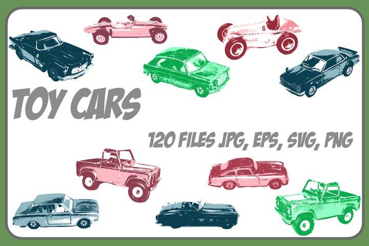 Toy Car Vector Designs! ESP, JPG, PNG, SVG