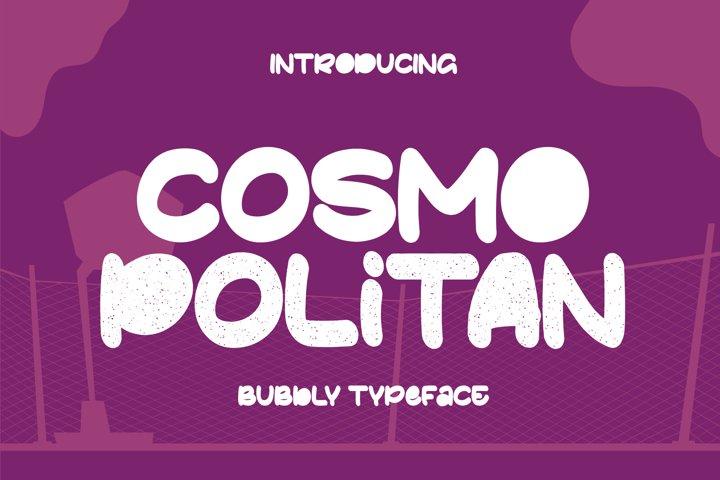 Cosmopolitan Typeface
