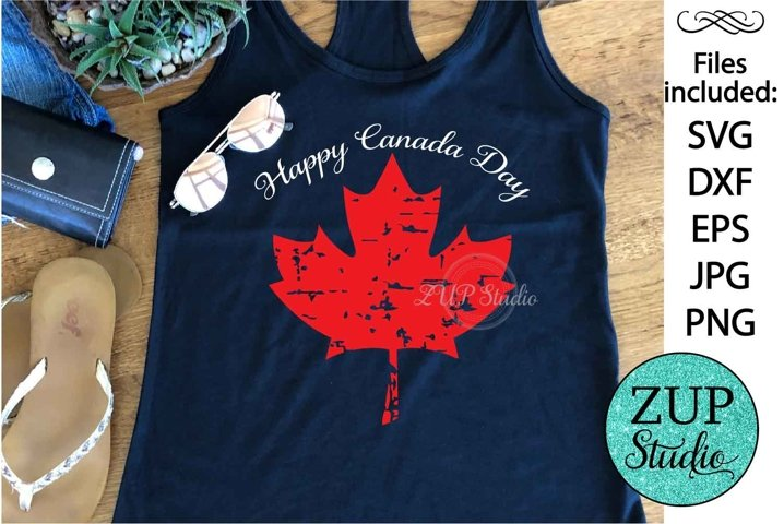 Maple Leaf Canada Day Digital Cutting files file 145