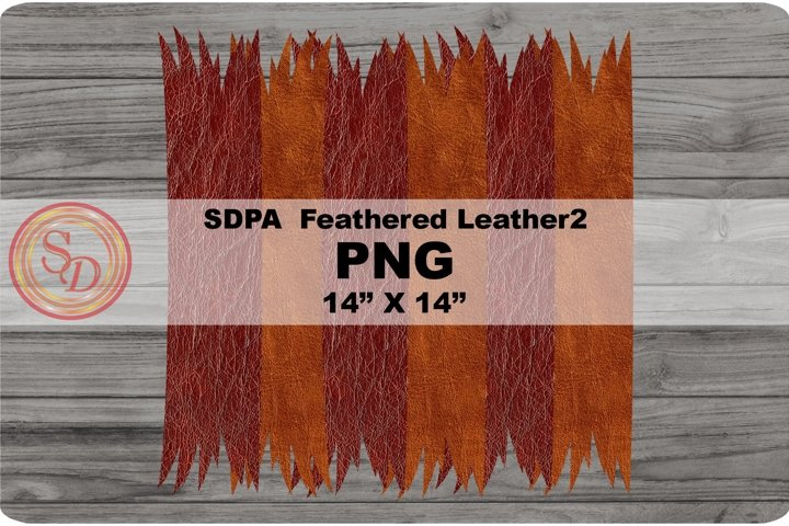 Sublimation Designs - background Feathered Leather2